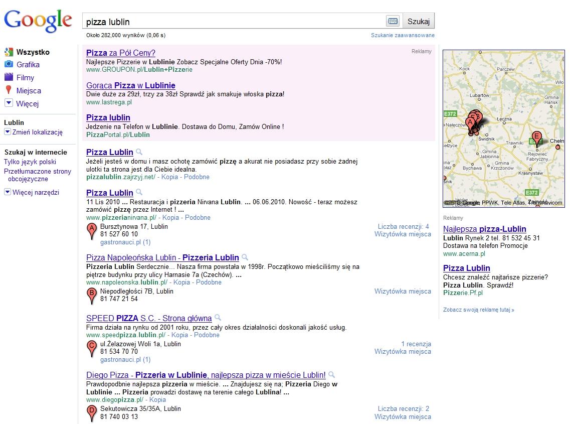 Lokalne wyszukiwanie