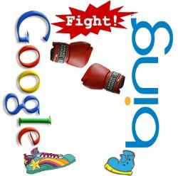 Bing kradnie odGoogla