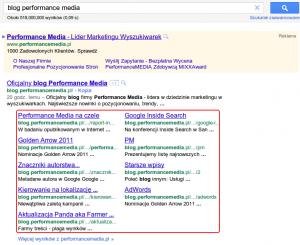 Linki witryny dokategorii iposzczególnych wpisów nablogu