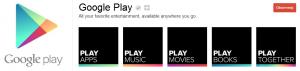 Profil Google Play wGoogle+