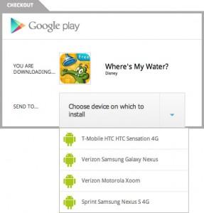 Instalacja aplikacji zGoogle Play