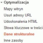 Dane strukturalne - Narzędzia dla webmasterów
