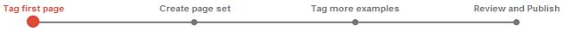 Marker danych - proces oznaczania zestawu stron