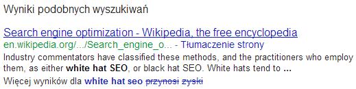 Wyniki podobnych wyszukiwań wGoogle (3)