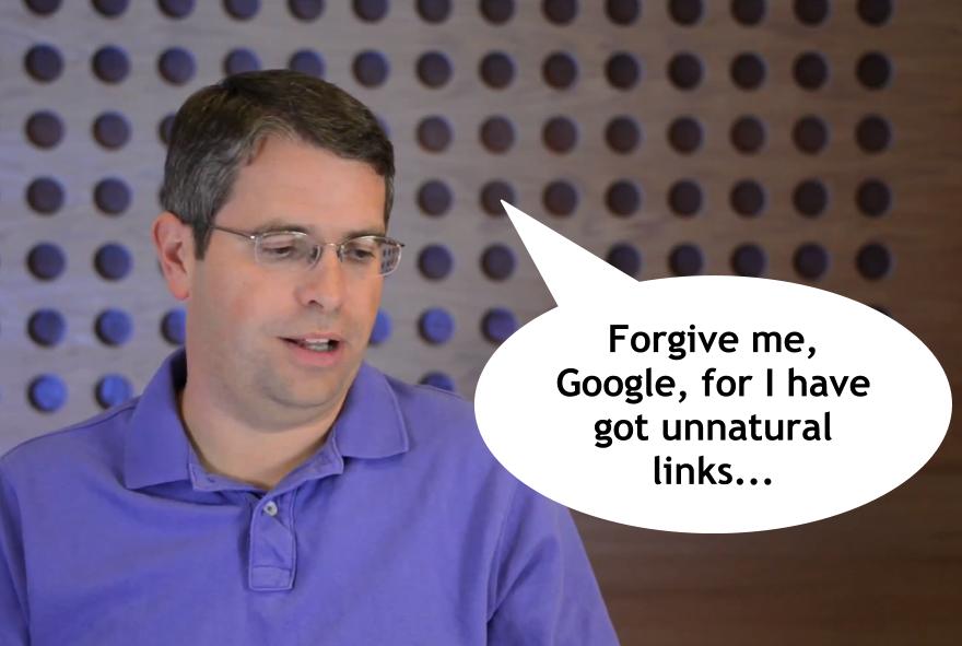 Wybacz mi Google pozyskiwanie nienaturalnych linków...