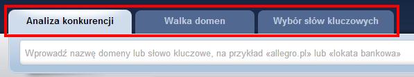 Narzędzia SpyWords.pl