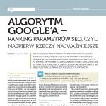 Algorytm Google'a – ranking parametrów SEO