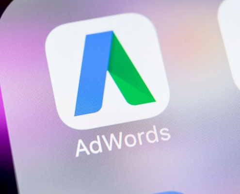 Aplikacja Google AdWords Niestandardowe reguły