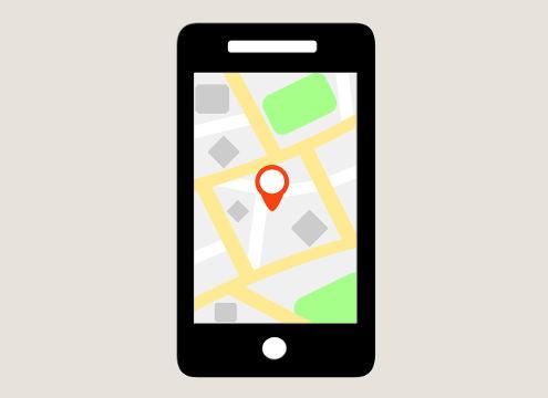 Smartfon ilokalizacja namapie