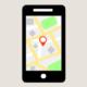 Smartfon i lokalizacja na mapie