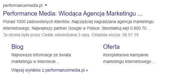 Organiczny wynik wyszukiwania