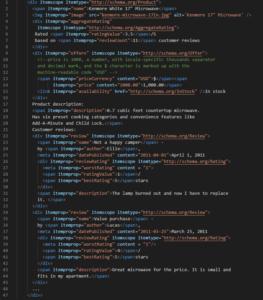 mikrodane schema.org - przykład
