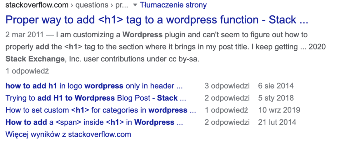 Rich snippets - Q&A Page
