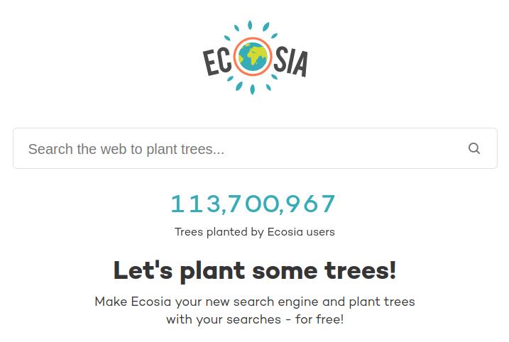 wyszukiwarka ecosia