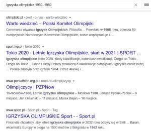 Operator wyszukiwania zakresu liczb