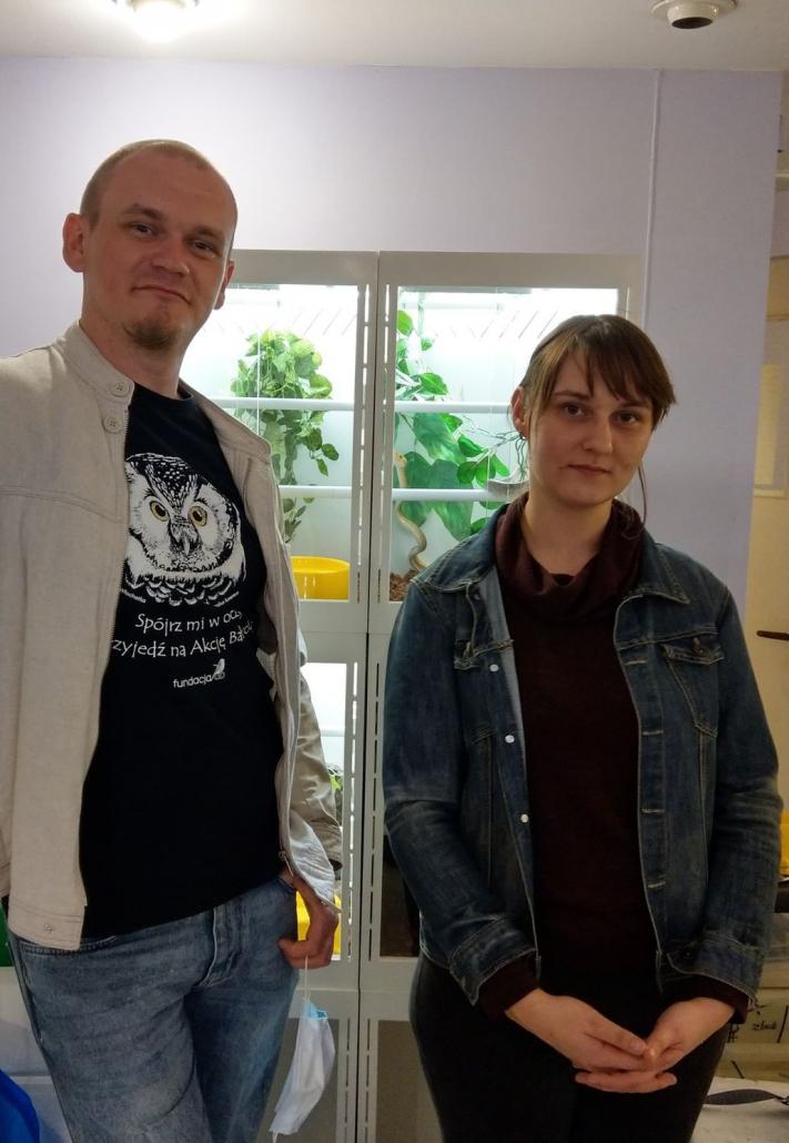 PMocni wLublinie – Paweł Warowny iAnna Zaborowska